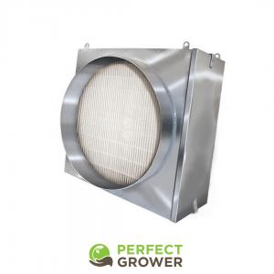inline HEPA filter grow room